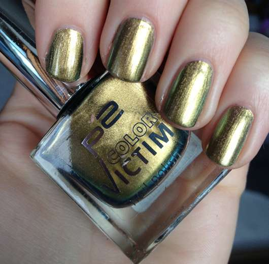 p2 color victim nail polish, Farbe: 860 ready to rock!