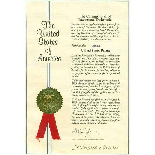 Patentieren Definition