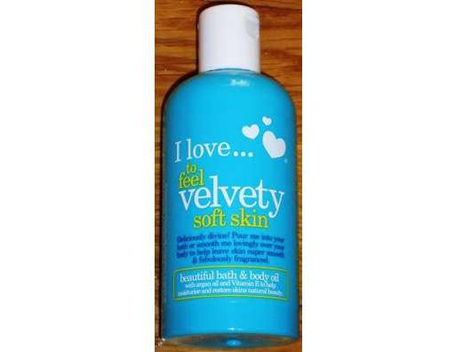 <strong>I love…</strong> to feel velvety soft skin beautiful bath & body oil (LE)