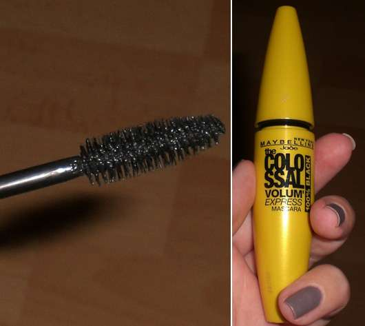 Maybelline Jade The Colossal Volum' Express Mascara 100% Black