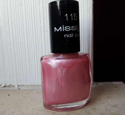 Misslyn nail polish, Farbe: 115 sweetheart