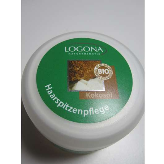 Logona Haarspitzenpflege Kokosöl (für strapaziertes Haar)
