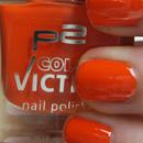 p2 color victim nail polish, Farbe: 740 electric