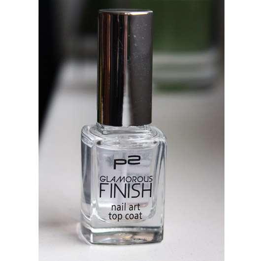 p2 glamorous finish nail art top coat