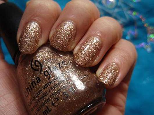 China Glaze Nail Lacquer With Hardeners, Farbe: 1114 Champagner Kisses (LE)
