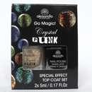 alessandro Go Magic! Crystal Punk Special Effect Top Coat Set, Farbe: freaky orange