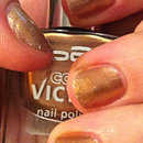 p2 color victim nail polish, Farbe: 870 sparkling surprise