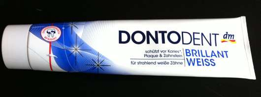 DontoDent Brillant Weiss Zahncreme