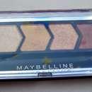 Maybelline Eyestudio Quattro Diamond Glow Lidschatten, Farbe: 20 Coral Drama