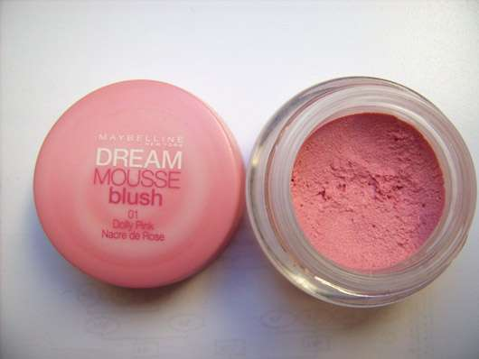 Maybelline New York Dream Mousse Blush, Farbe: 01 Dolly Pink