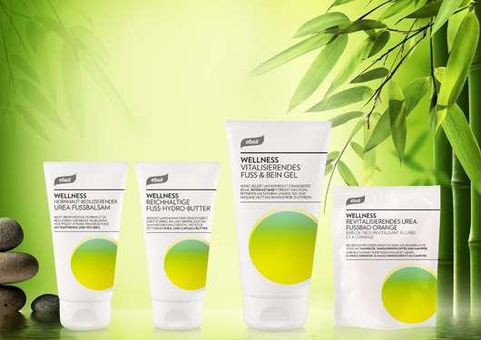 Die neuen efasit Wellness Fußpflege-Produkte