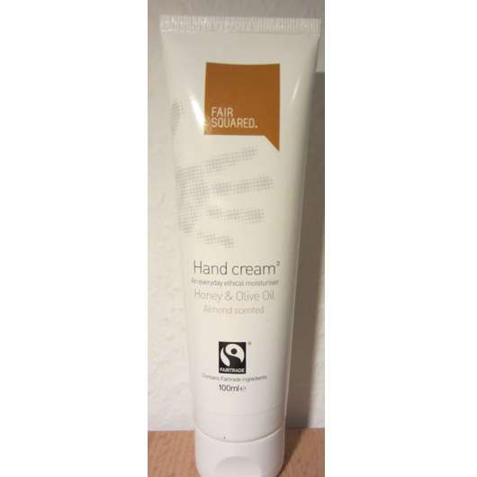 Fair Squared Hand Cream Honey & Olive Oil (Almond Scented)