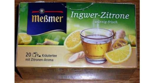 <strong>Meßmer</strong> Ingwer-Zitrone Kräutertee