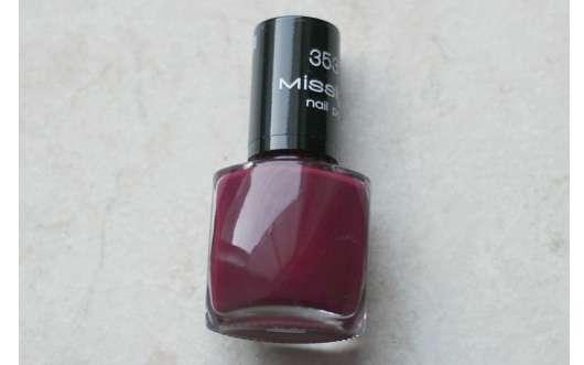 Misslyn nail polish, Farbe: 353 lolita