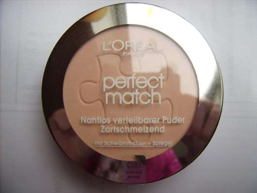 L'Oréal Paris Perfect Match Puder, Farbe: K1 Rose Ivory