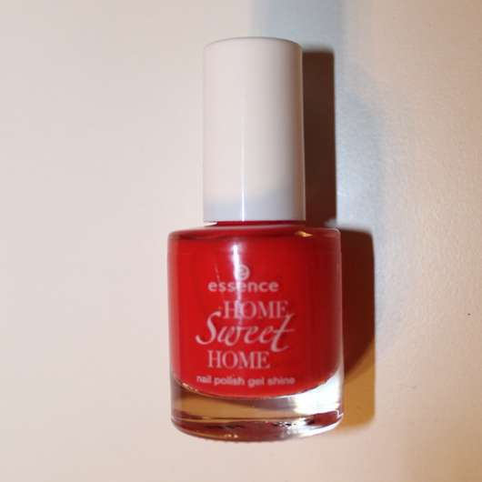 essence home sweet home nail polish gel shine, Farbe: 03 red-y to relax (LE)