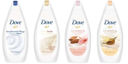 """Dove """"Pure Verwöhnung"""" Cremebäder"""
