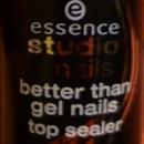 essence studio nails better than gel nails top sealer