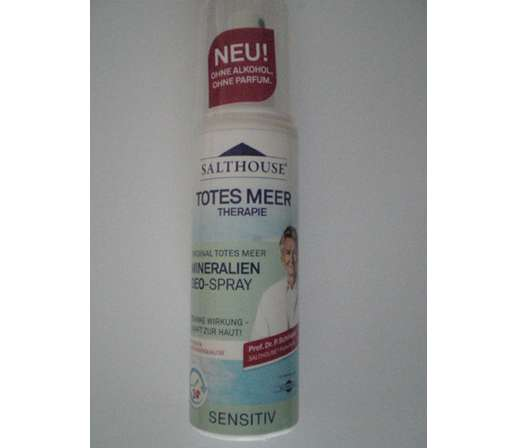 Salthouse Totes Meer Therapie Mineralien Deo-Spray