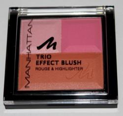 Produktbild zu MANHATTAN Trio Effect Blush – Farbe: 355 Pink Cupcake