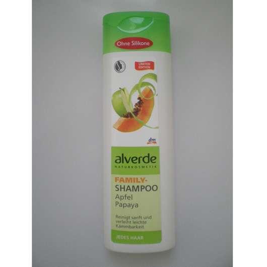 alverde Family-Shampoo Apfel Papaya (LE)