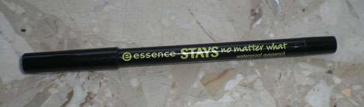 essence stay no matter what waterproof eyepencil, Farbe: 01 midnight black