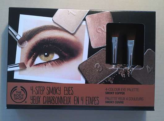 The Body Shop 4-Step Smoky Eyes Palette, Farbe: 01 Smokey Copper (LE)