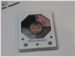 Produktbild zu p2 cosmetics snow kissed! ice & glam eye shadow palette – Farbe: 020 snow clouds (LE)