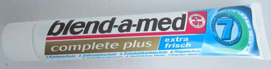 """blend-a-med complete plus """"extra frisch"""" Zahncreme"""