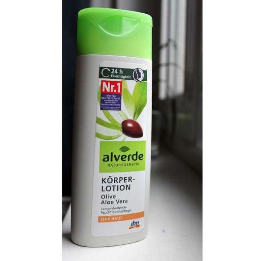 alverde Körperlotion Olive Aloe Vera
