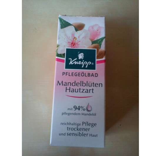 Kneipp Pflegeölbad Mandelblüten Hautzart