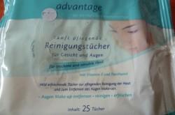 Produktbild zu advantage Sanft Pflegende Reinigungstücher (trockene und sensible Haut)
