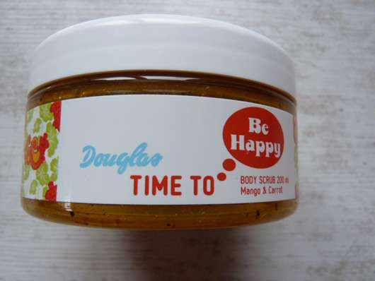 Douglas Time To… Be Happy Body Scrub Mango & Carrot