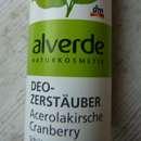 alverde Deo-Zerstäuber Acerolakirsche Cranberry