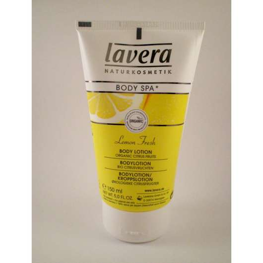 lavera BODY SPA Lemon Fresh Bodylotion (Bio-Zitrusfrüchte)