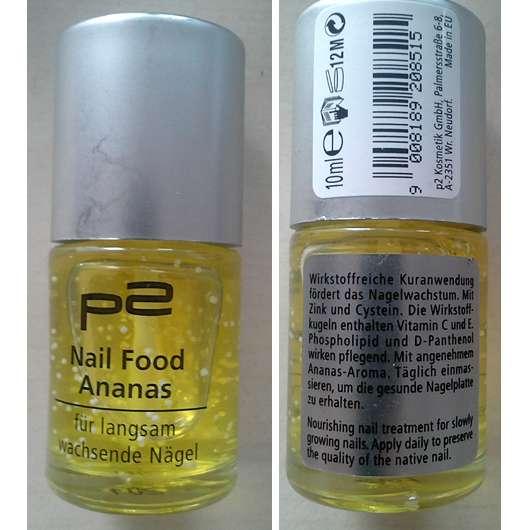 p2 Nail Food Ananas (für langsam wachsende Nägel)