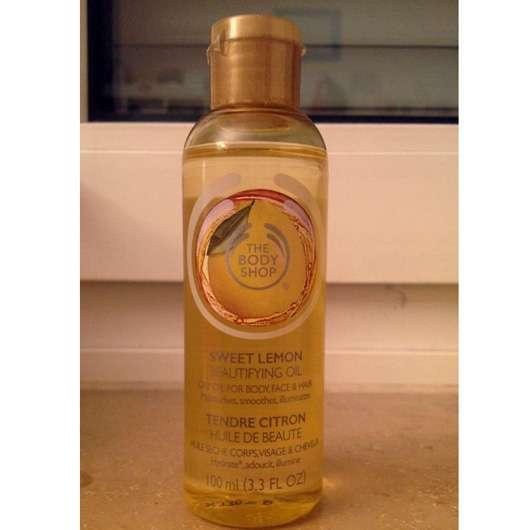 The Body Shop Sweet Lemon Beautifying Oil