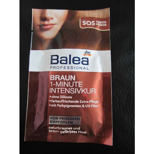 Balea Professional Braun 1-Minute Intensivkur