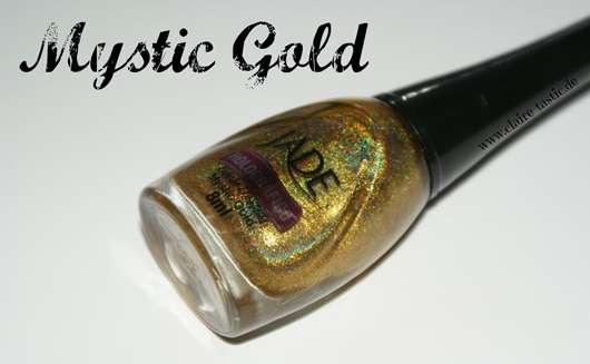 JADE Holográfico Nail Polish, Farbe: Mystic Gold