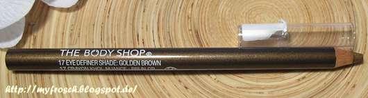 The Body Shop Metallic Eye Definer Pencil, Farbe: 17 Golden Brown (LE)