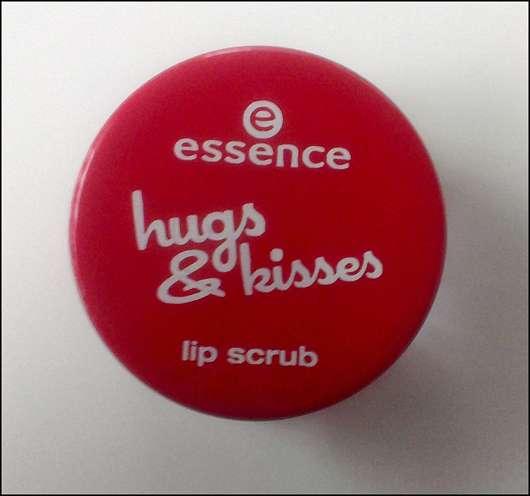 essence hugs & kisses lip scrub (LE)