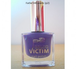 Produktbild zu p2 cosmetics color victim nail polish – Farbe: 540 poetic