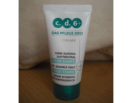 test deodorant c d 6 das pflege deo creme testbericht von bini. Black Bedroom Furniture Sets. Home Design Ideas