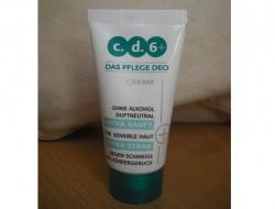 Produktbild zu c.d.6+ Das Pflege Deo Creme