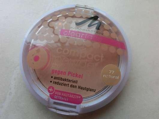 Manhattan Clearface Compact Powder, Farbe: 77 natural