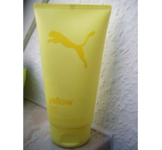 Puma Yellow Woman Shower Gel