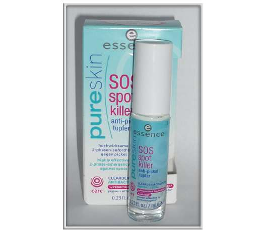 essence pure skin SOS spot killer