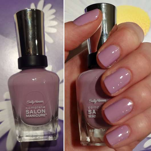 Sally Hansen Complete Salon Manicure, Farbe: 406 Purple Heart