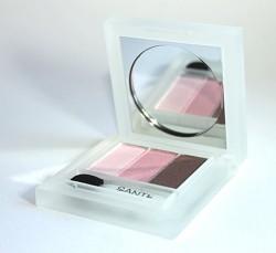 Produktbild zu SANTE Eyeshadow Trio – Farbe: 01 Rose