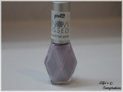 Produktbild zu p2 cosmetics snow kissed! icy touch nail polish – Farbe: 030 frozen lavender (LE)